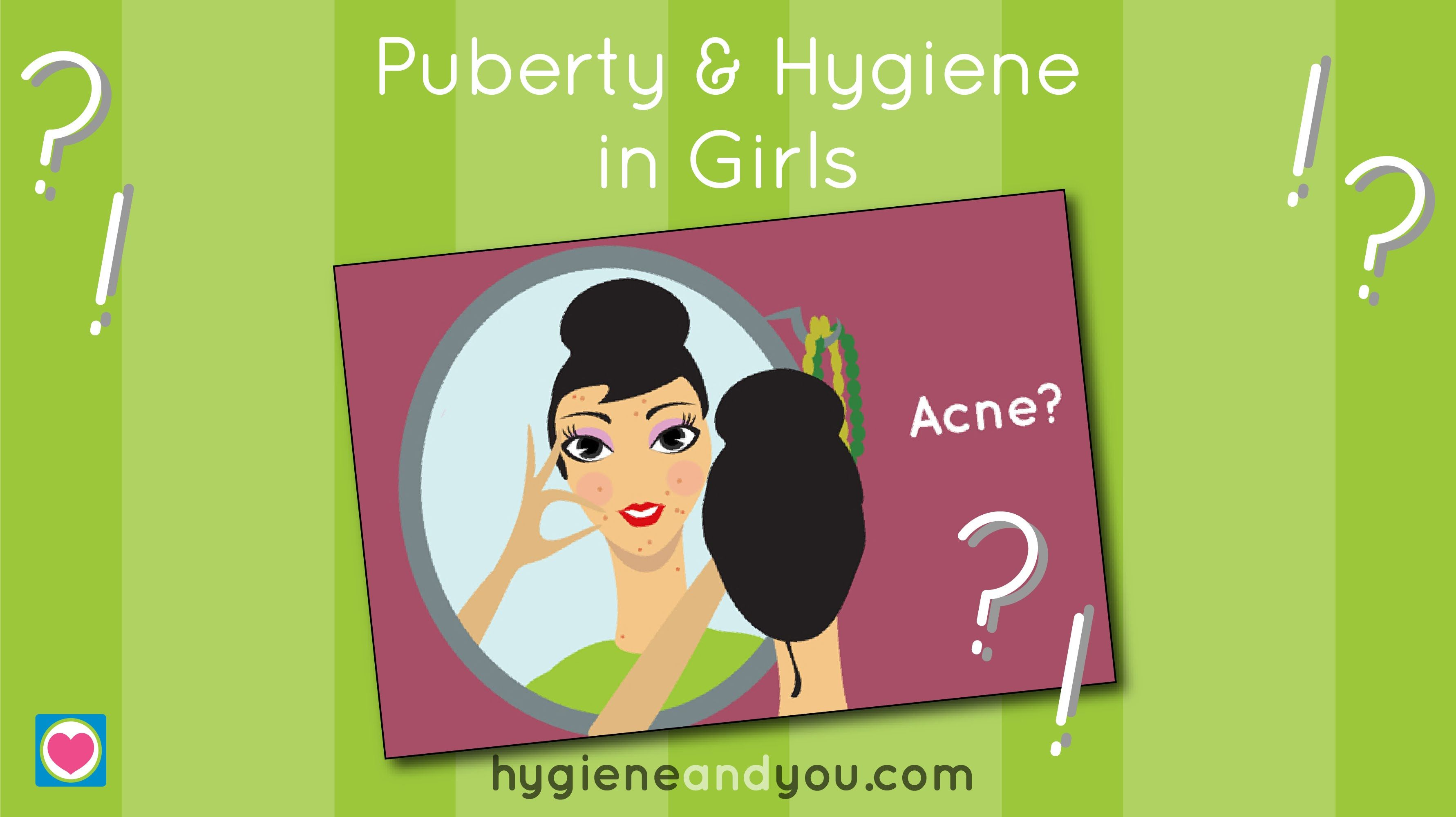 Puberty And Hygiene In Girls