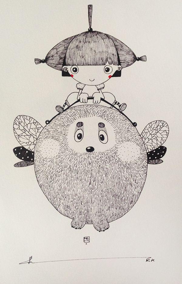 Глубокий мир в рисунках Катерины Рейды - Ярмарка Мастеров - ручная работа, handmade