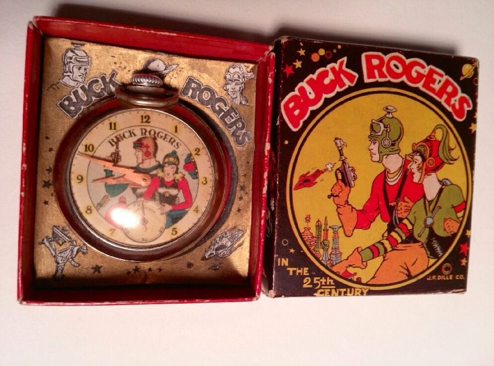 Buck Rogers Watch In The Box 1936