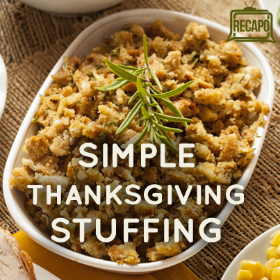 Easy turkey stuffing recipes for thanksgiving