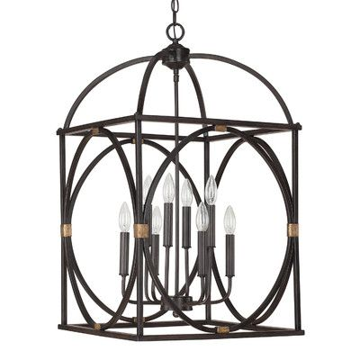 Capital Lighting 8 Light Foyer Pendant U0026 Reviews | Wayfair Supply