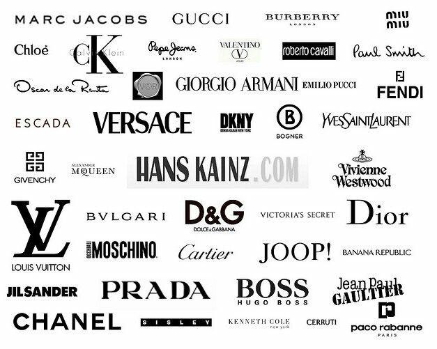 Pin By Oh10fnst On X High Fashion Branding Clothing Brand Logos Fashion Logo Branding