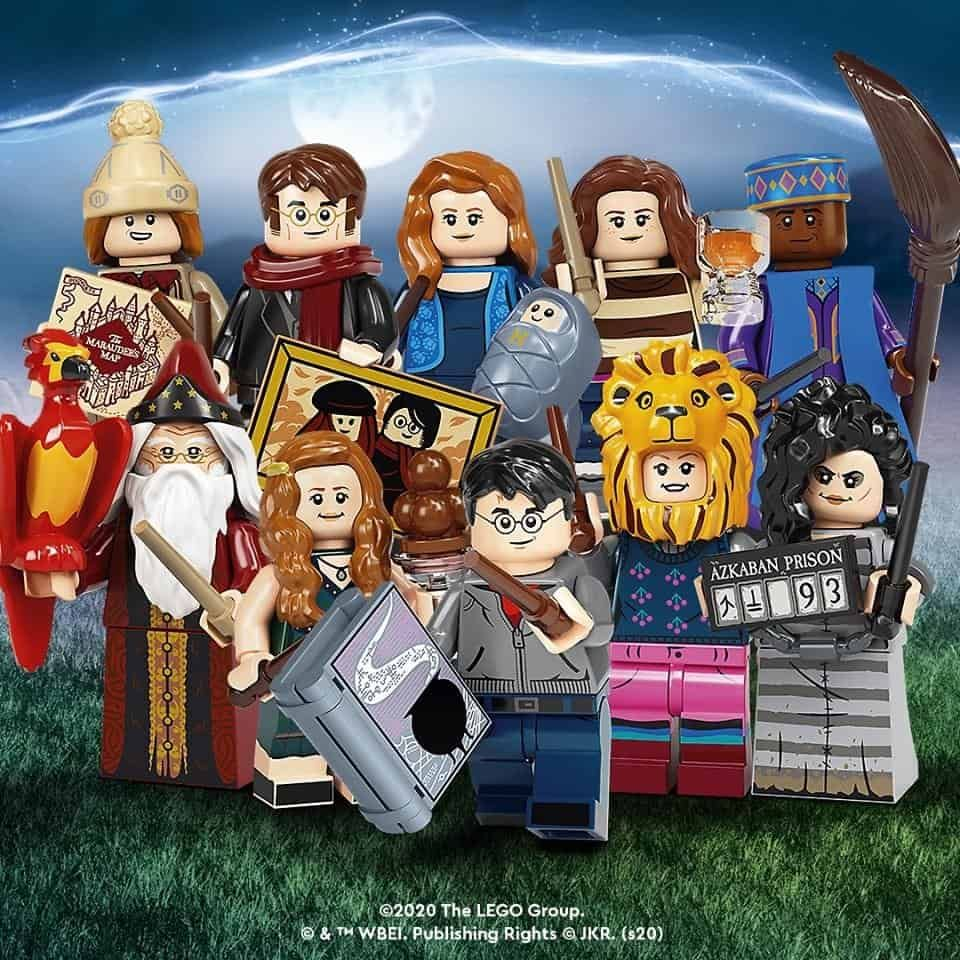 Lego Harry Potter 1 4 Komplettlã Sung