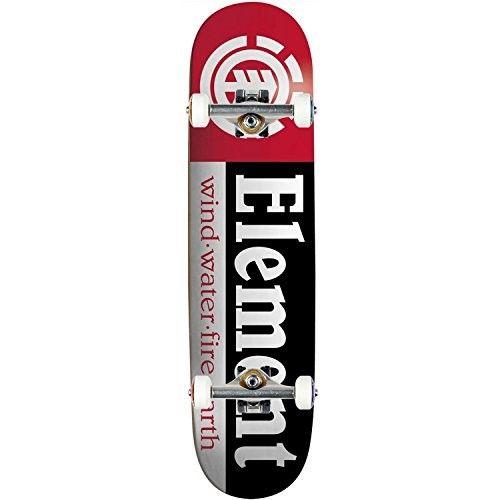 Element Skateboard Complete Section 7 75 Independent Trucks Bearings Multi Skateboard Complete Skateboards Skateboards