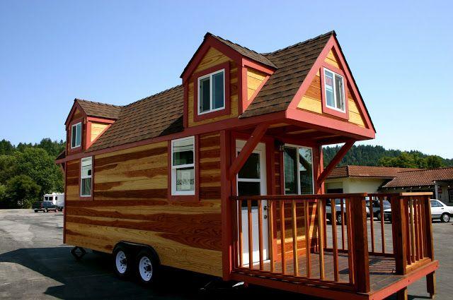Dormer Loft Cottage By Molecule Tiny Homes: This House Was The First Molecule Tiny House Built. It