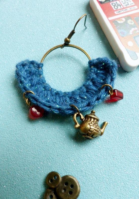 Mes bijoux au crochet avec Rock My Laine - Une fille à frange in ...