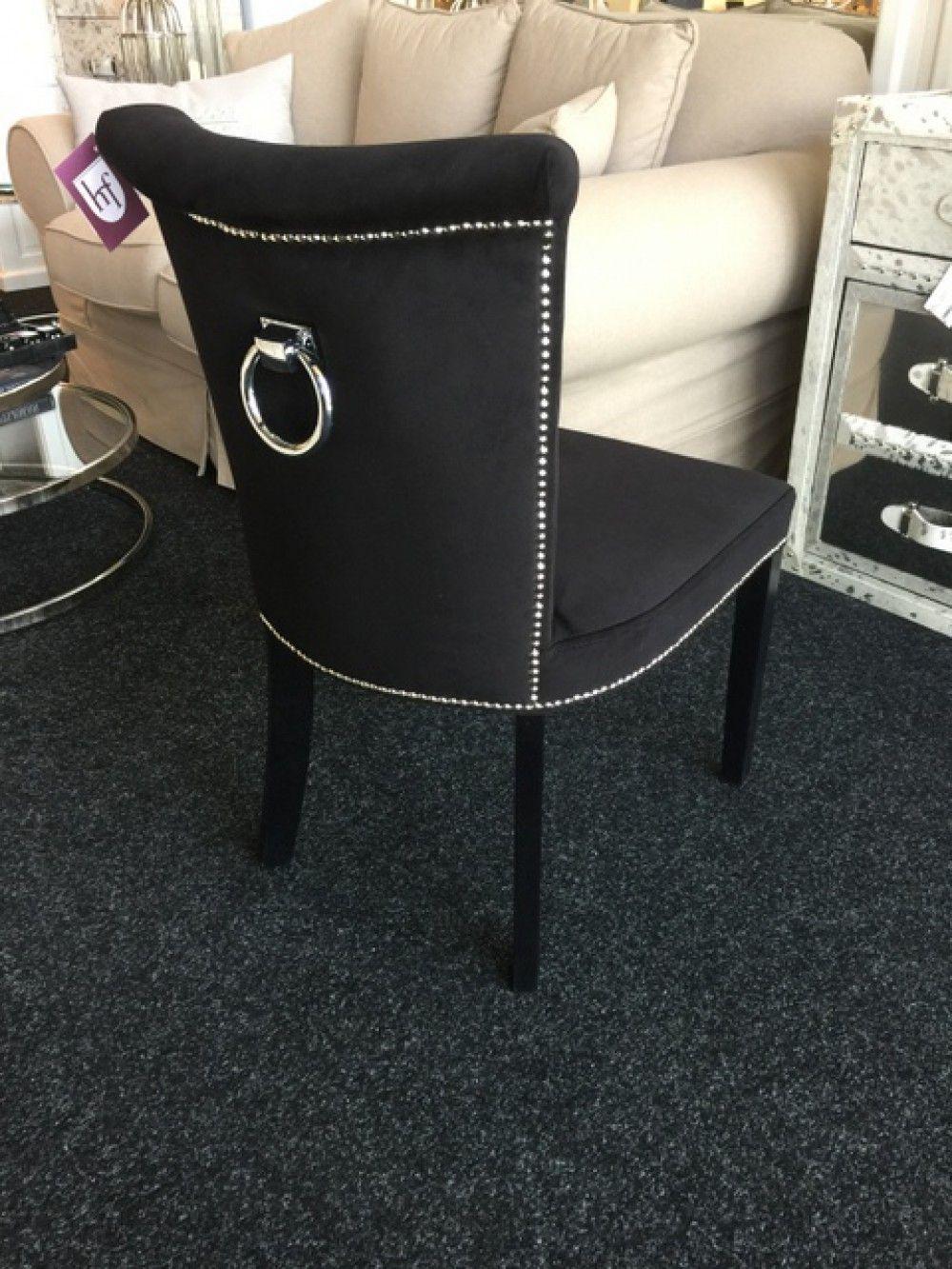 stuhl anthrazit gepolstert stuhl mit einem ring landhaus style m bel esszimmer st hle. Black Bedroom Furniture Sets. Home Design Ideas