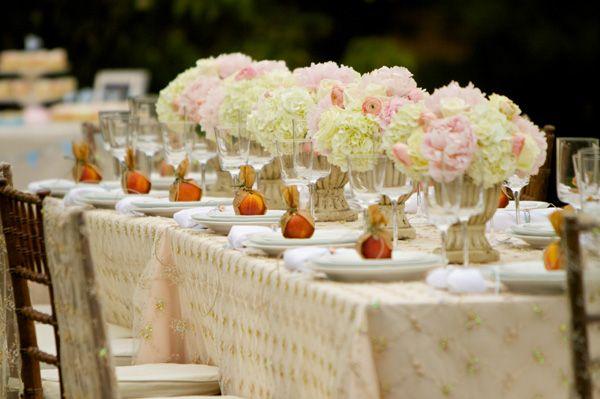Elegant Garden Themed Dinner Party With Homemade Details