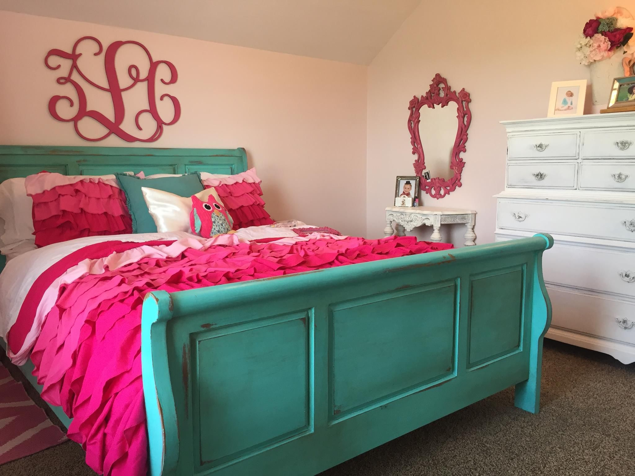 Santa Fe Bedroom Furniture Love This Santa Fe Turquoise Color From Cece Caldwells Paints