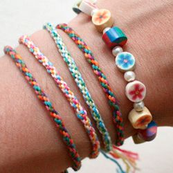 how to make easy loom bracelets