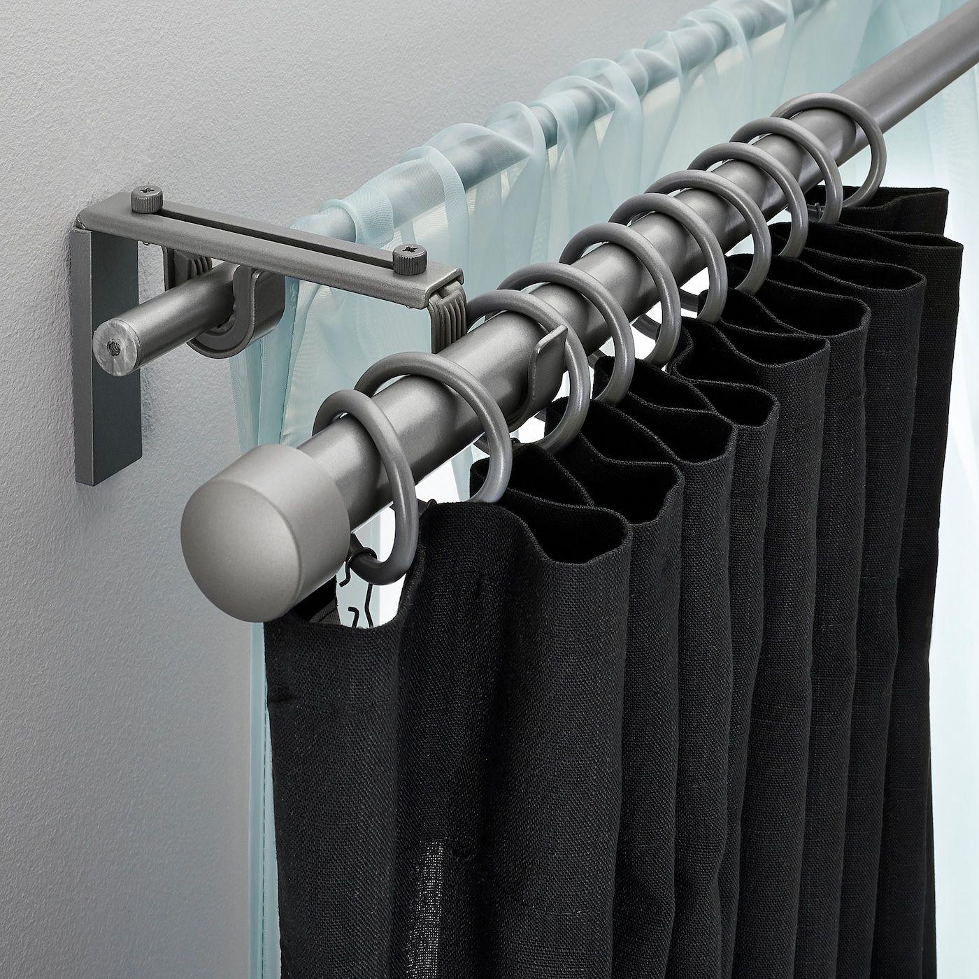 IKEA RÄCKA HUGAD Double curtain rod