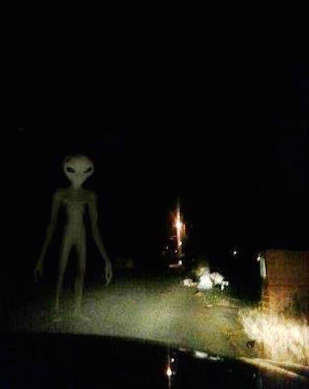 alien sightings around the world