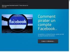 Pirater Un Compte Facebook Grace Au Panel Facewoot Toutes Les