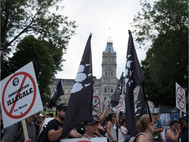Quebec City mayor says La Meute is not welcome after weekend demonstration