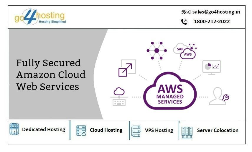 Go4hosting Supports Managed Aws Cloud Services For Migration Maintenance Management Services With Ce Cloud Services Cloud Infrastructure Web Hosting Services