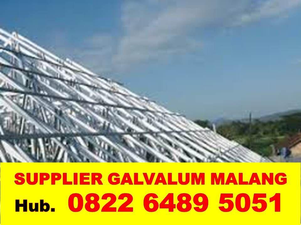 Gambar Baja Ringan Kanal C 082264895051 Harga Borongan Pasang Galvalum Malang Dak Lantai