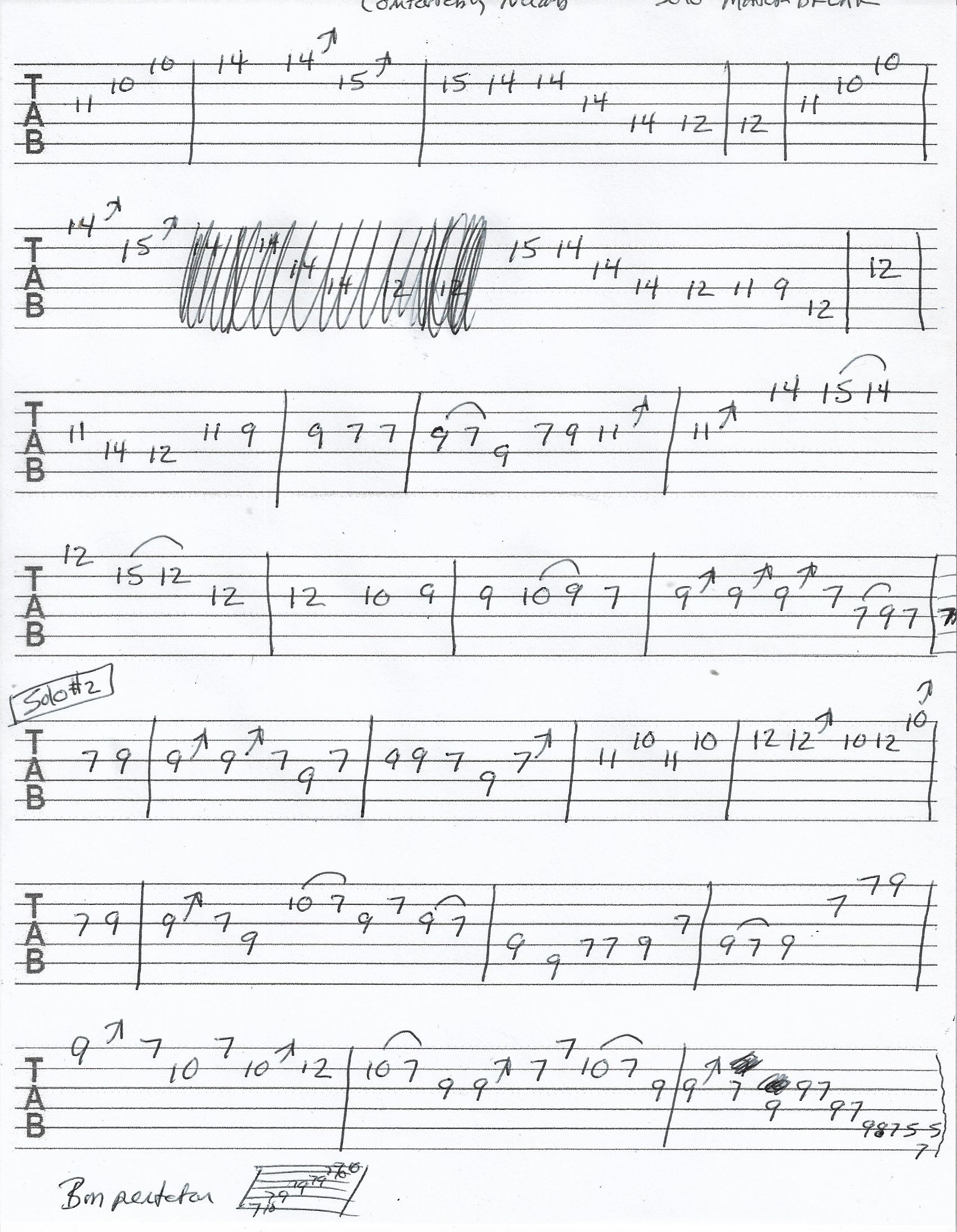 Pin On Guitar Tabs