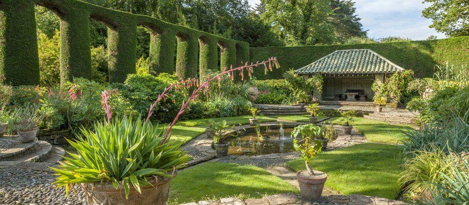 The Spanish Garden at Mount Stewart, Northern Ireland ...