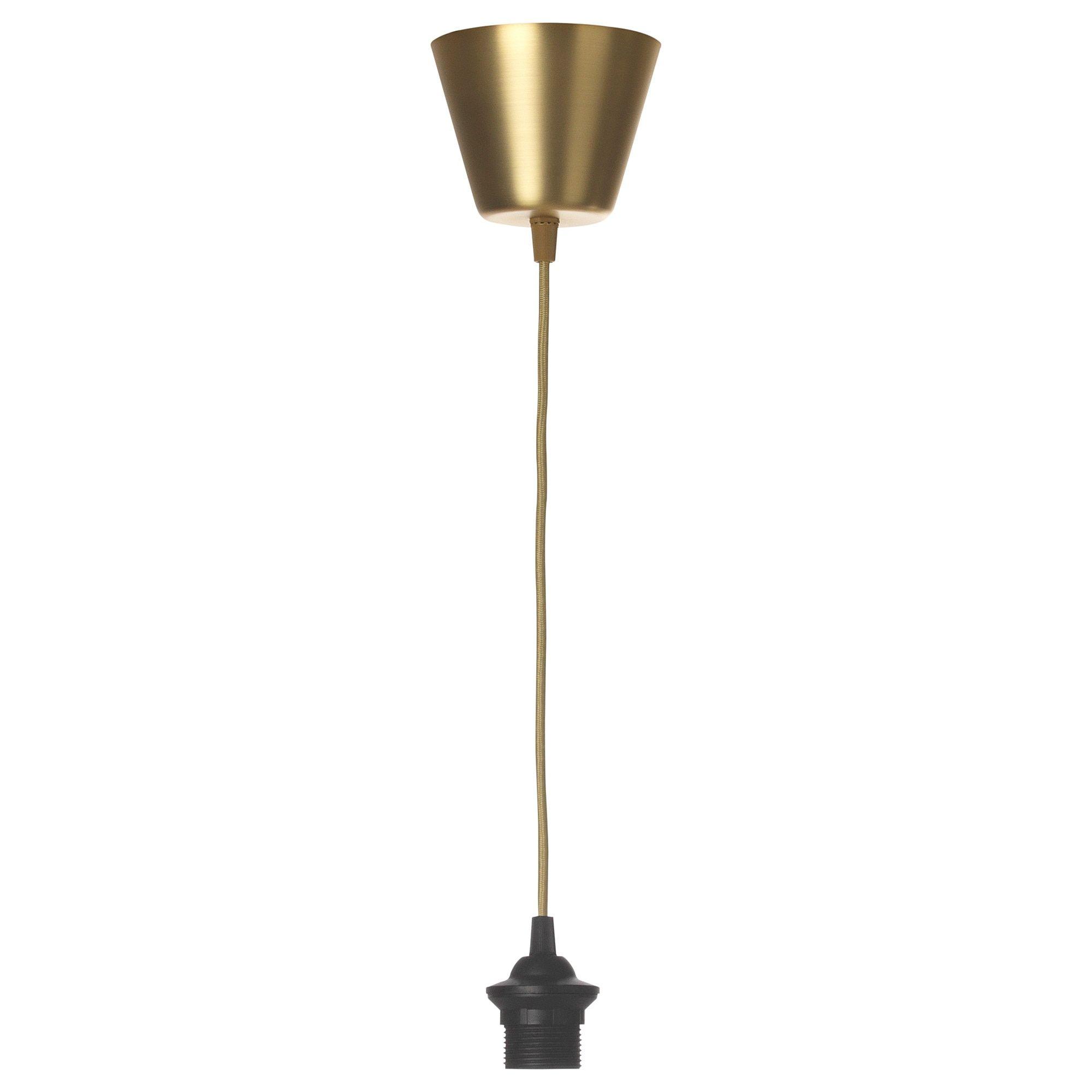 Hemma Cord Set Textile Brass Color 5 11 Brass Color Led Bulb Bulb