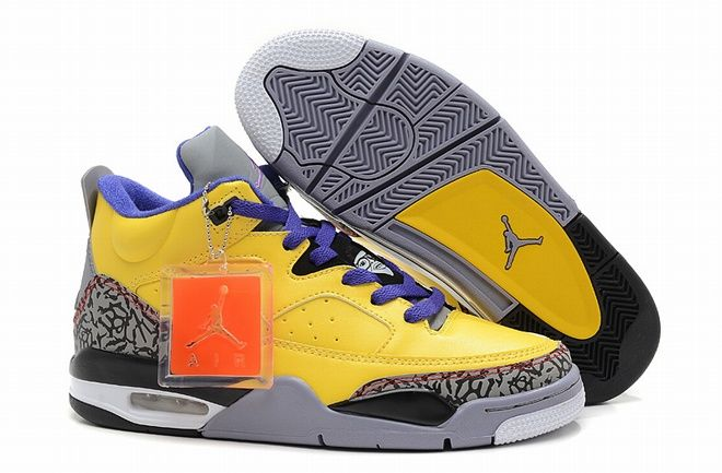 f6406ca1f1c Air Jordan Son Of Mars Low Tour Yellow Grape Ice Cement Grey Black White  Men Shoes