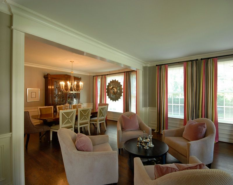 Interior Designed Living Rooms Rariden Schumacher & Mio Interior Design Living Space With Green