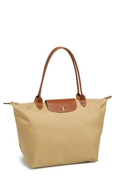 739fc28386f Longchamp  Large Le Pliage  Tote    gifts want    Longchamp, Nylon ...