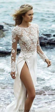 beach wedding dresses - Google Search
