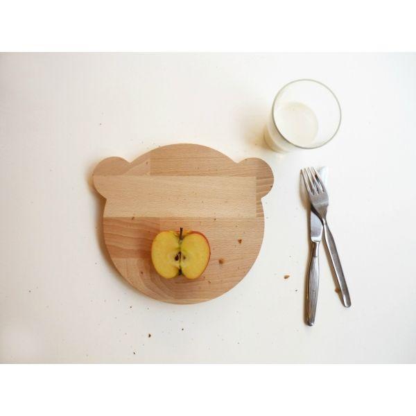 Tabla de madera para cortar y picar con foma de osito http - Tablas de madera precio ...