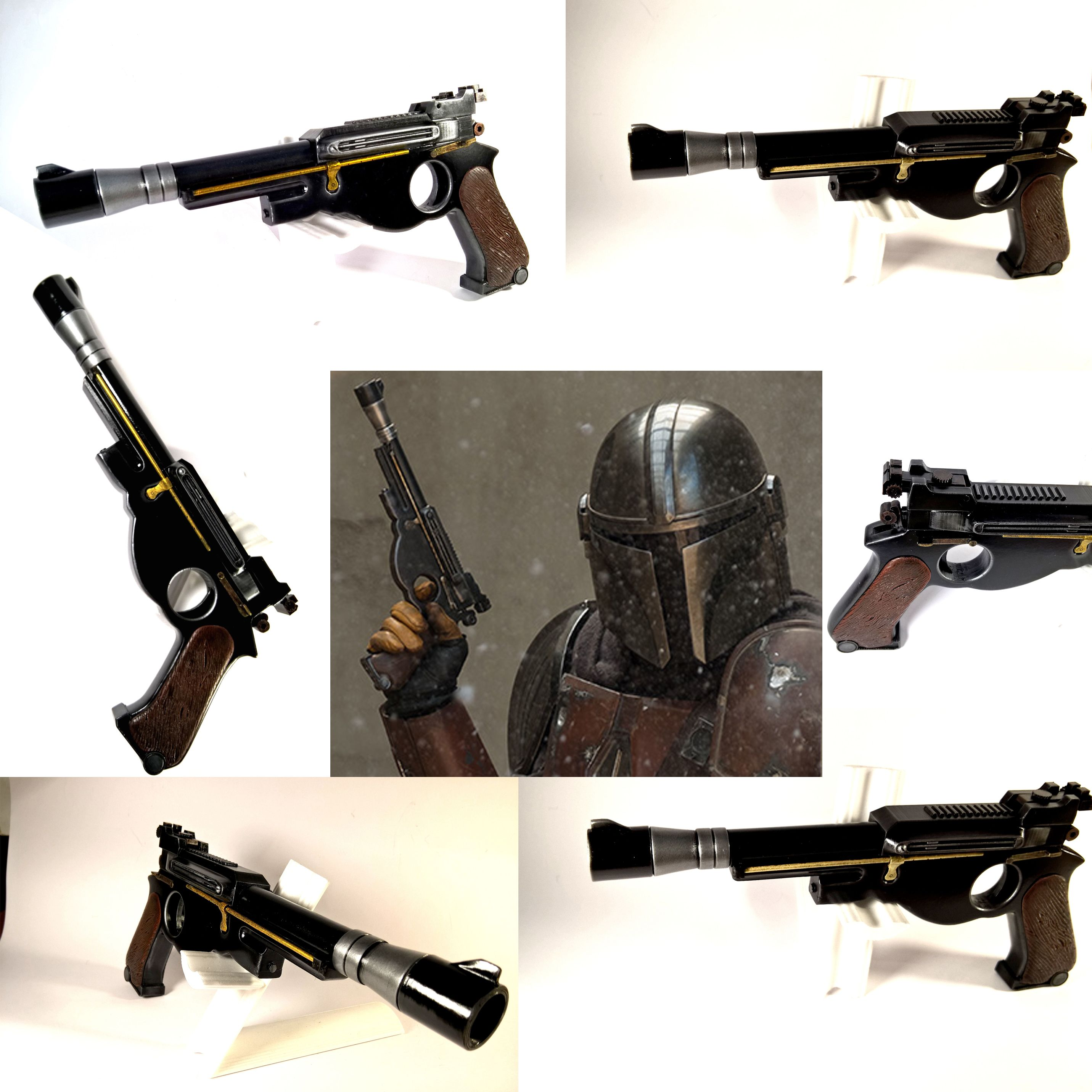 Star Wars Blaster Toy Laser Gun Pistol Halloween Costume Fancy Dress