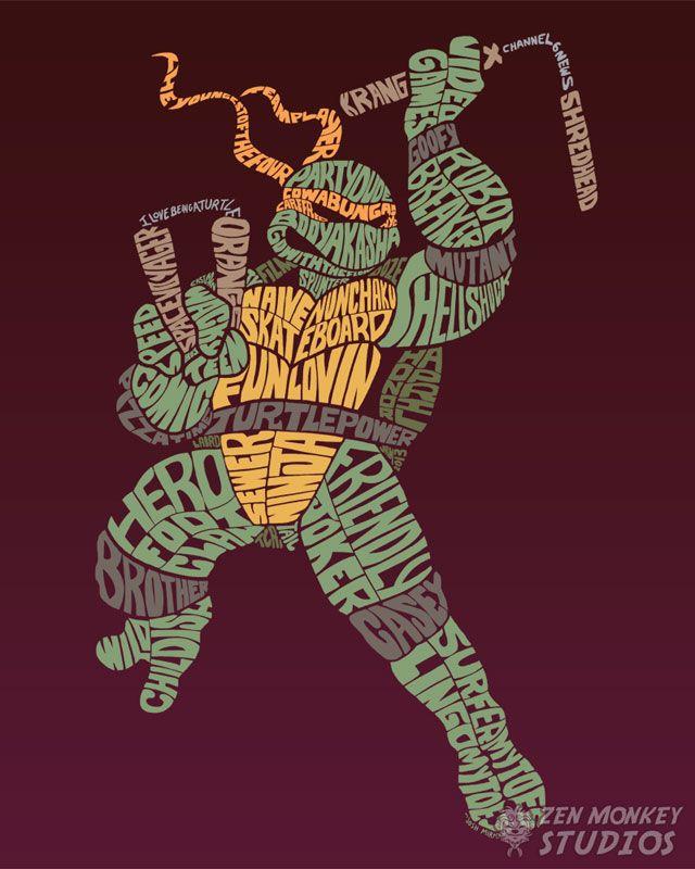 Michelangelo fond d ecran pinterest tortues ninja - Michaelangelo tortue ninja ...