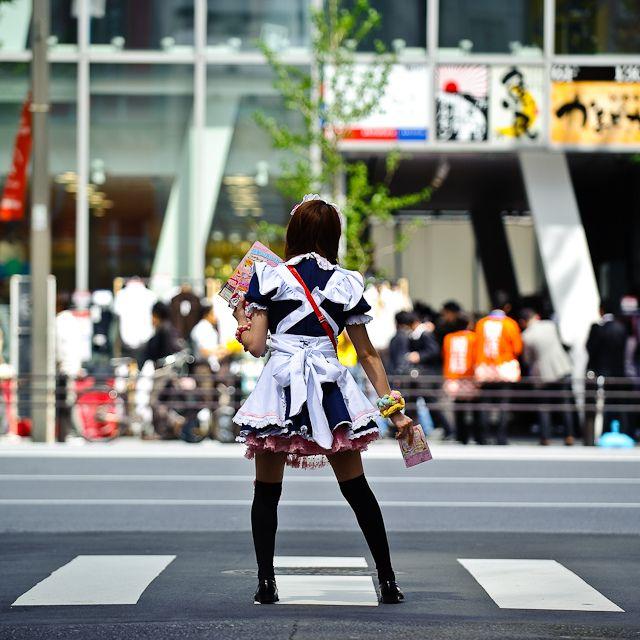 Getting girls in japan