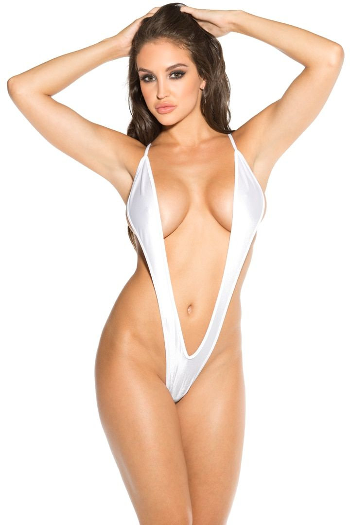 b14ef237cb6 Women s White Slingshot Monokini Thong Micro bikini. Shop Julbie.com where  you can find the largest selection of micro bikini swimwear - Julbie.com