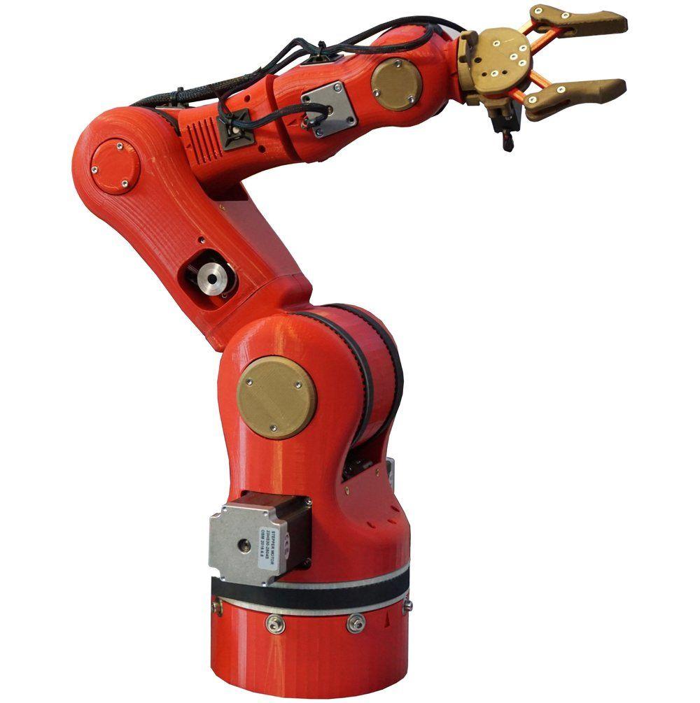 6-Axis Robotic Arm | MECHANICAL in 2019 | Arduino robot arm