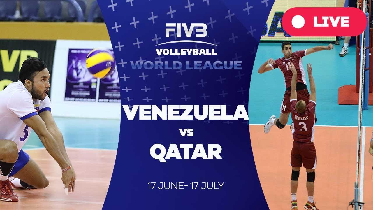 Venezuela v Qatar - Group 3: 2016 FIVB Volleyball World League