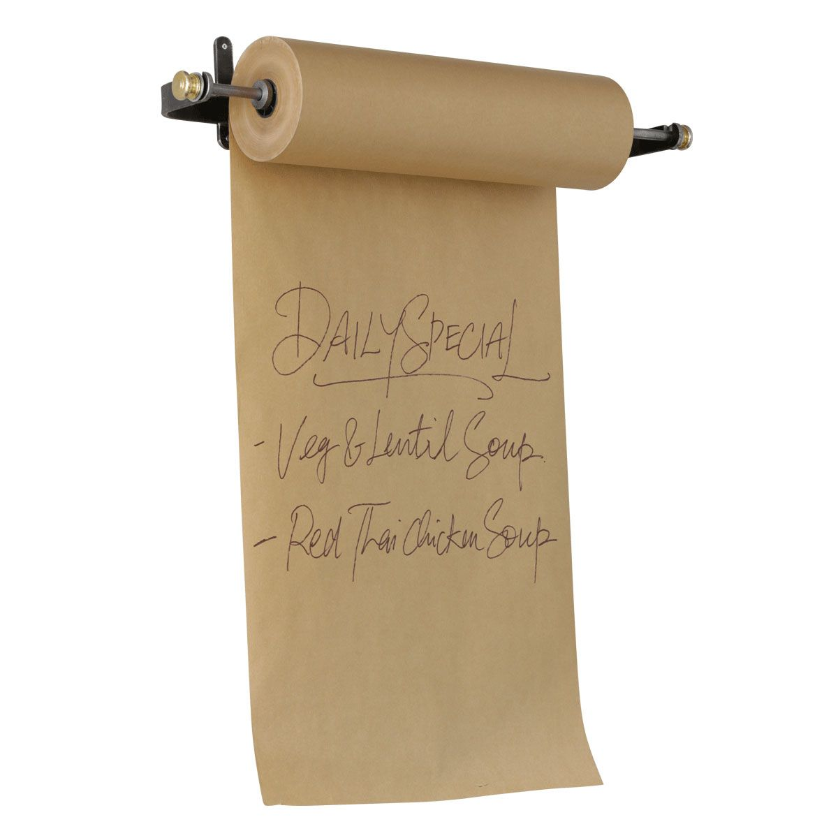 Wall Mounted Paper Roller paper roll menu holder | retail display | looking for this