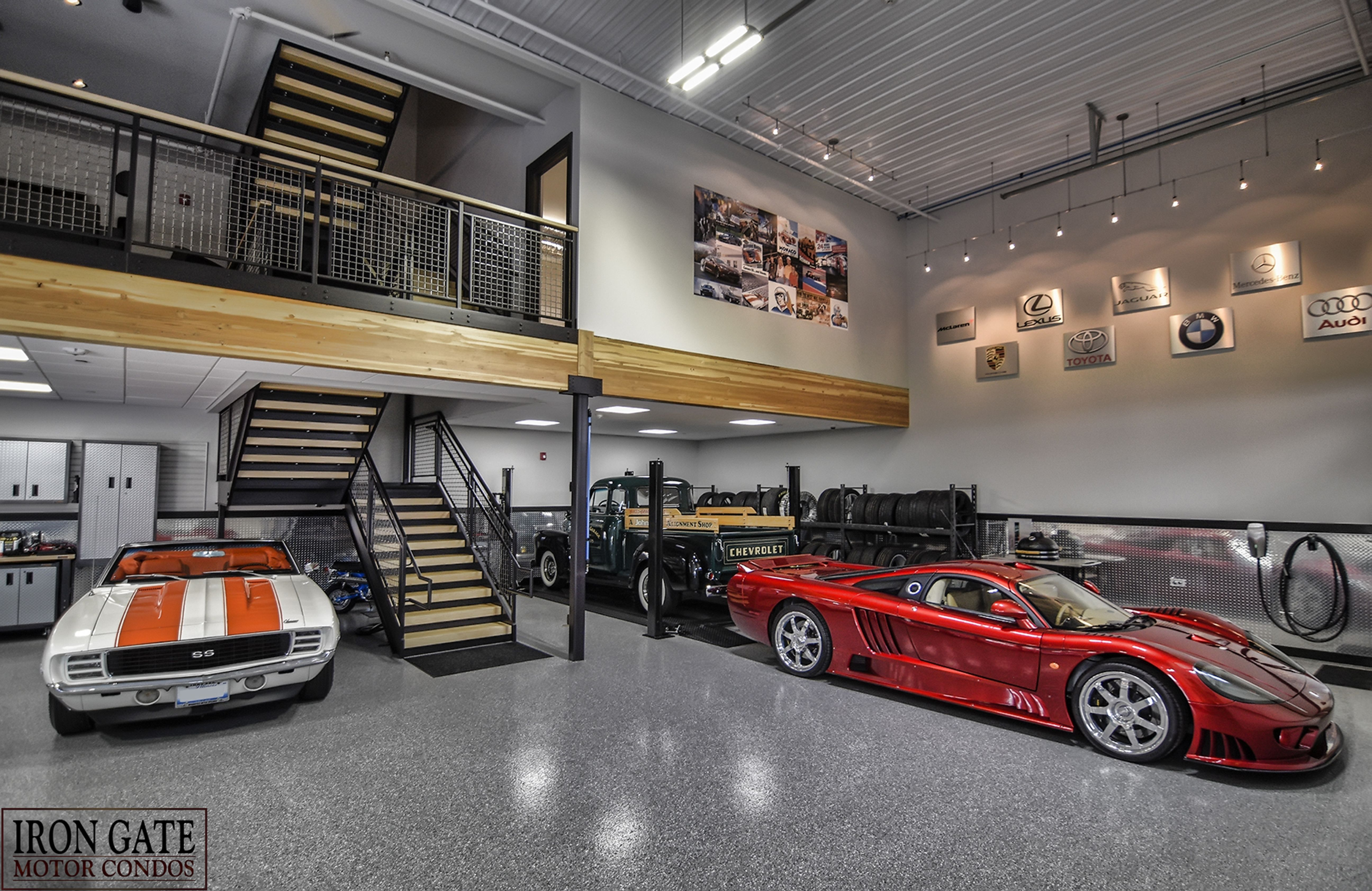 Car condos are the new man caves