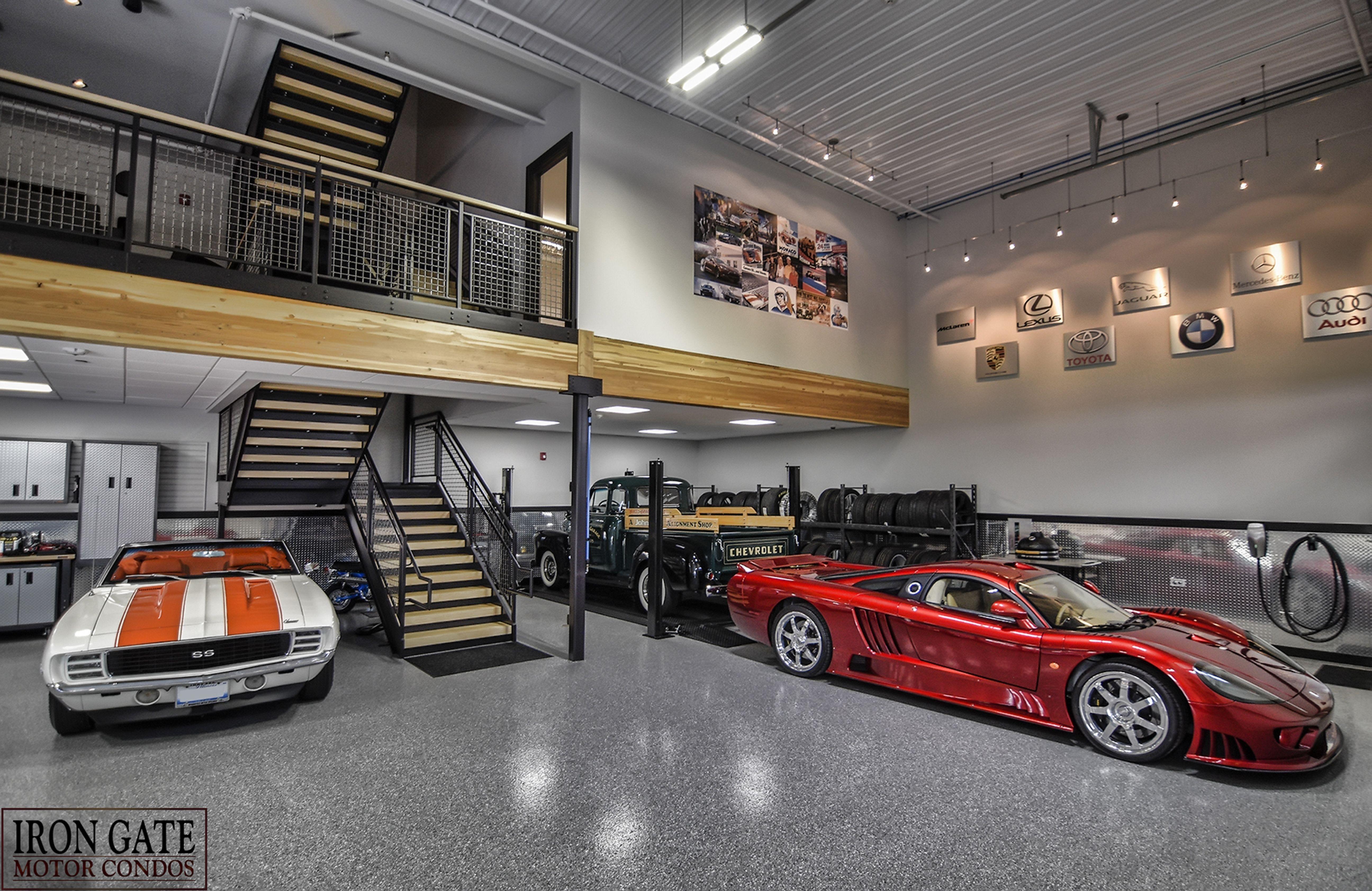 Car Condos Are The New Man Caves Garage Design Garage Interior Luxury Garage