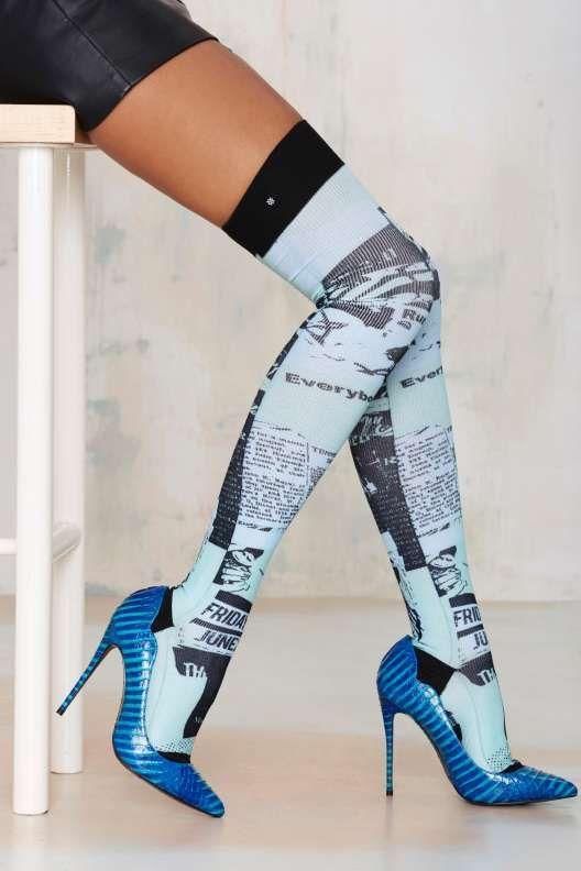 ec7f479d1d9 Rihanna x Stance Most Wanted Thigh-High Socks