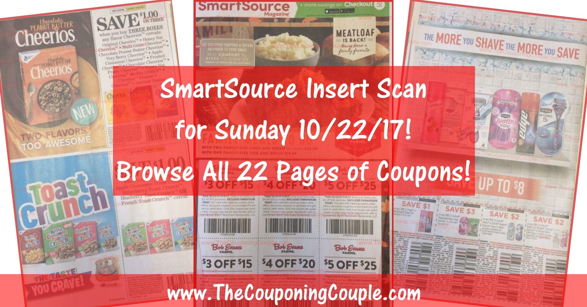 Want To See The Exact Coupons We Are Expecting In Sunday S 10 22 Smartsource Coupon Insert Smartsource Coupon Smartsource Coupon Inserts Smartsource Coupons