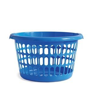 The Blue Laundry Basket Laundry Basket Clean Laundry Room