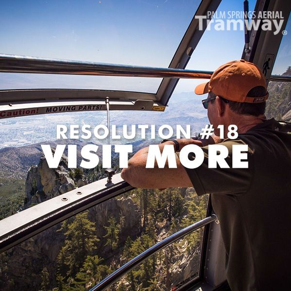 now that the palm springs aerial tramway has finished its