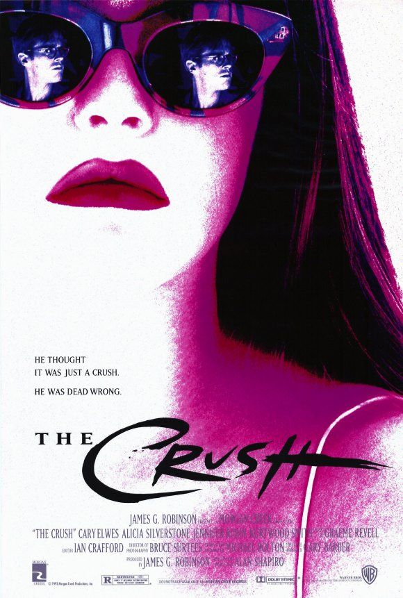 Now Playing The Crush 1993 Lixeira Carro Filmes Completos Posteres De Filmes