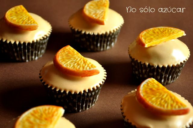 Receta: chocolate con glaseado de naranja. Chocolate with orange icing recipe.