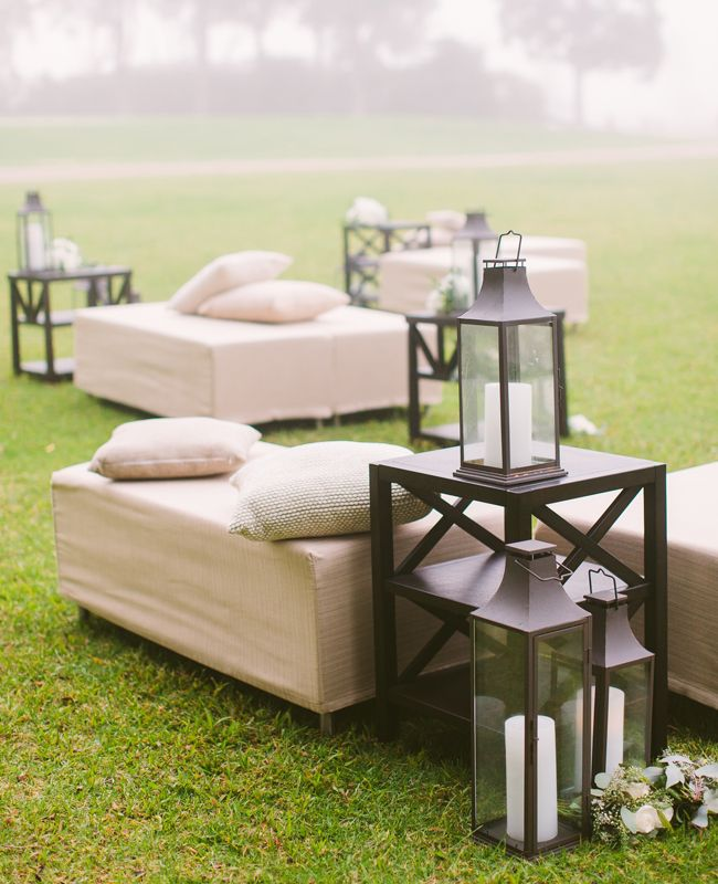 Outdoor Wedding Seating Ideas: How To Throw A Fun After-Party (Without Breaking The Bank