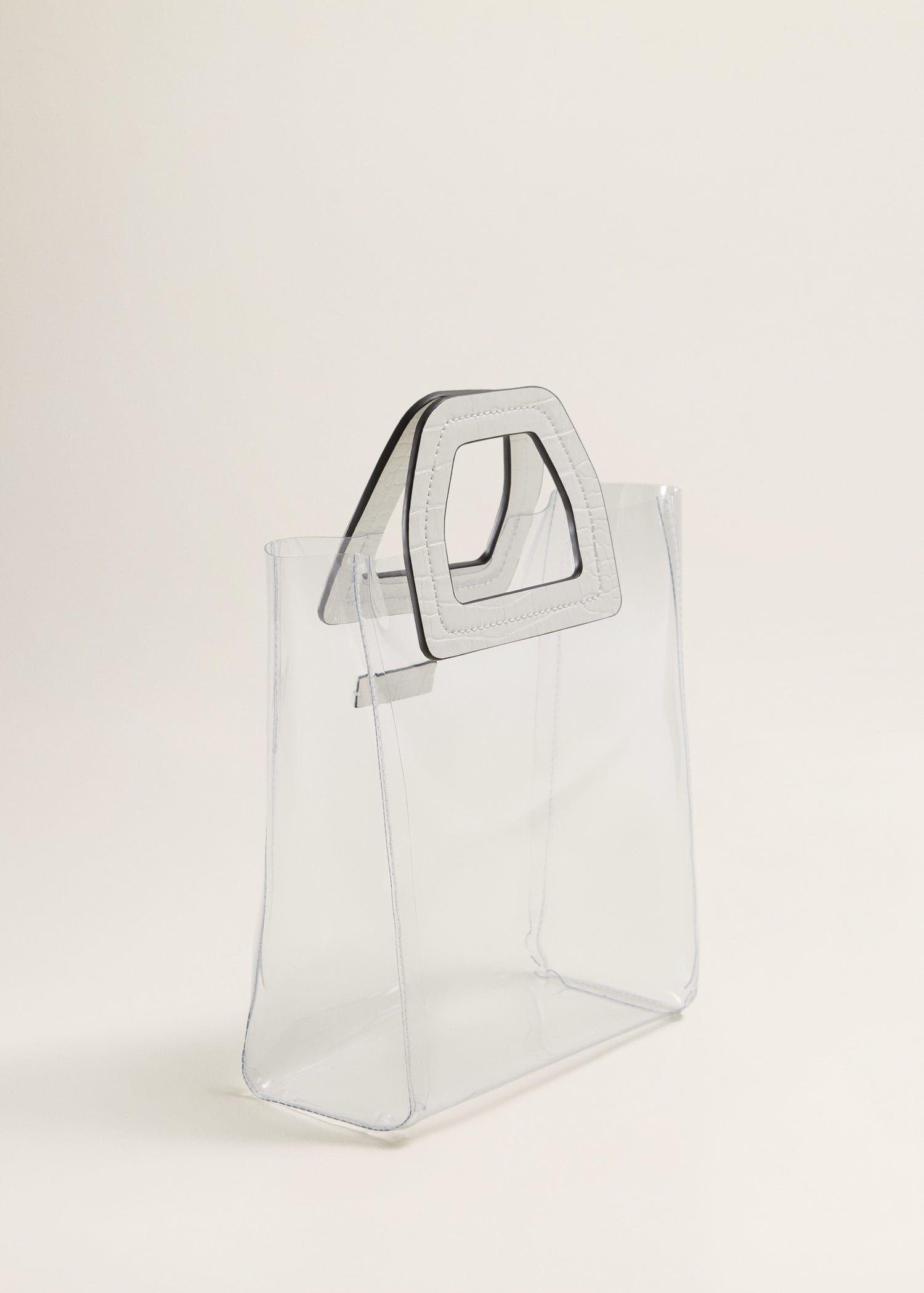 Vinyl Bag Woman Mango Canada Vinyl Bag Bags Fashion Bags