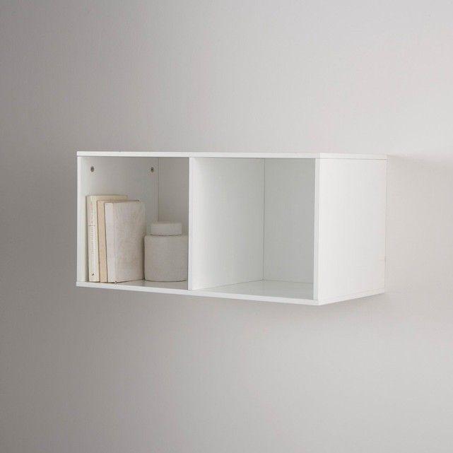 Etagère cube 2 cases, Mayeul | Cube and Framed tv
