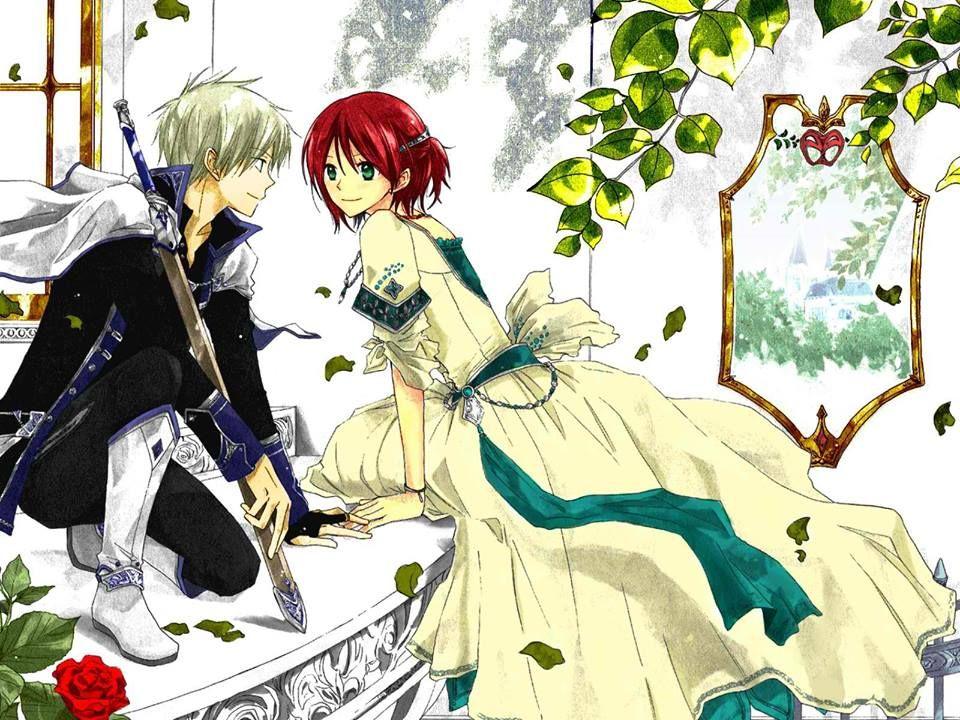 Akagami No Shirayuki Hime In 2021 Anime Snow Anime Romantic Anime