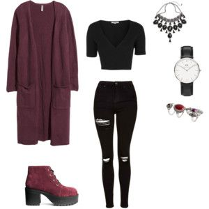 Everyday grunge outfit