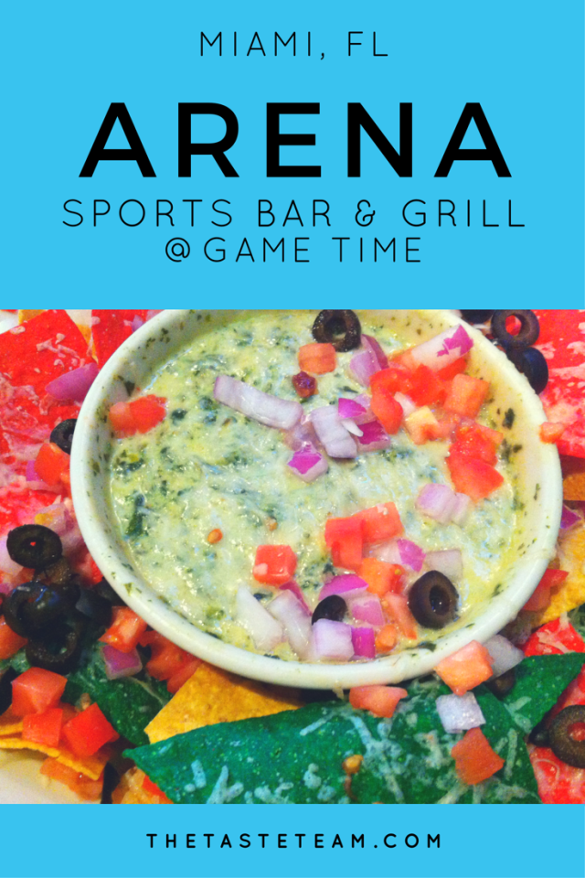 Arena Sports Bar and Grill Miami ReviewThe Taste Team