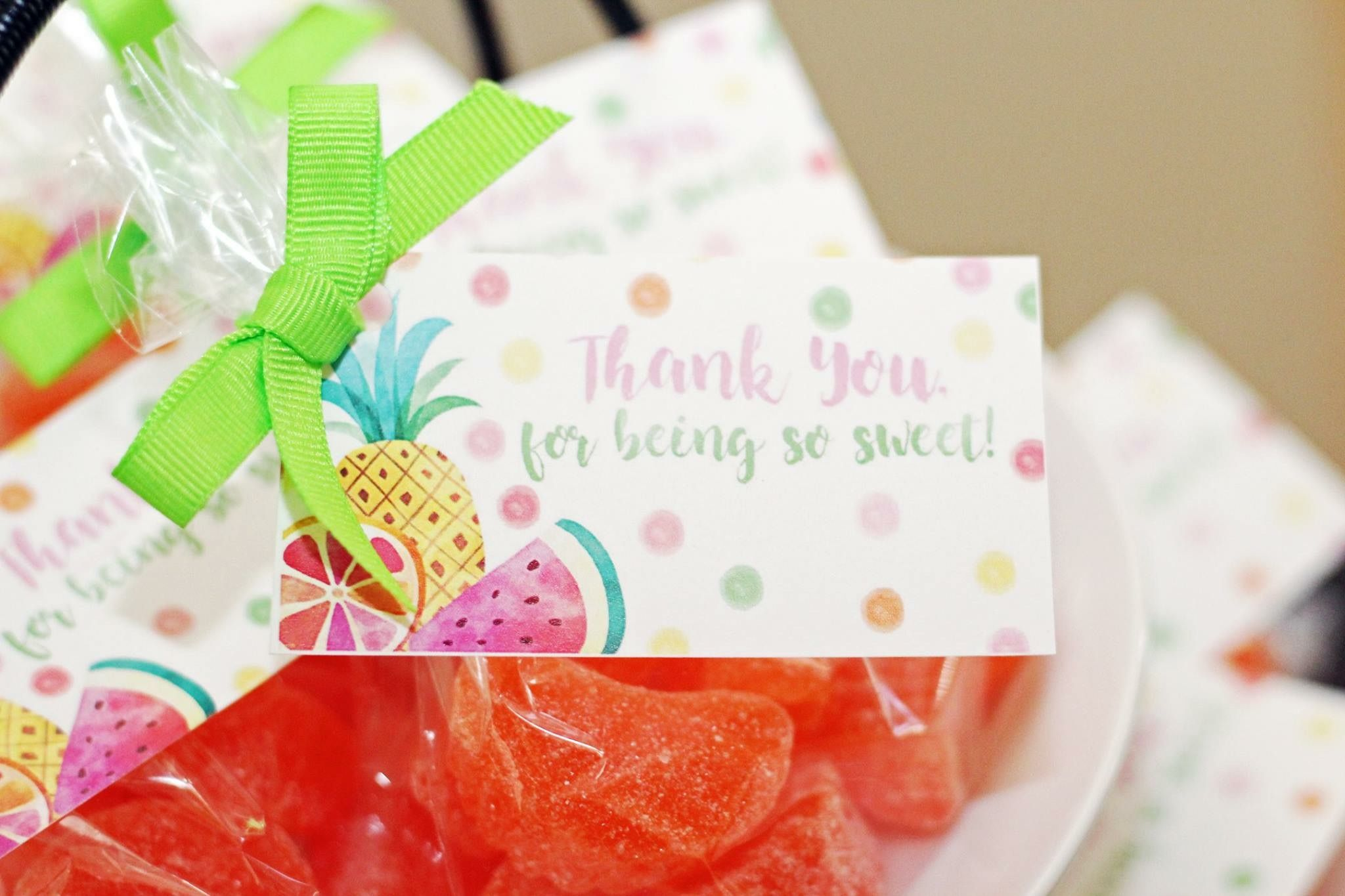 Two Tti Fruity Favors Tutti Second Birthday
